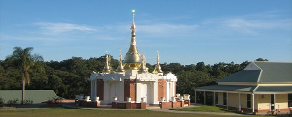IMC NSW Pagoda and Dhamma Hall Shining crystal